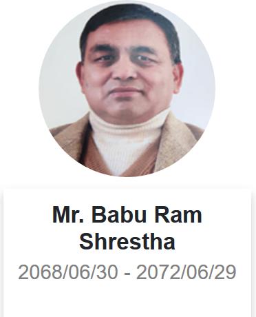 नेपाल धितोपत्र बोर्डका पूर्व अध्यक्ष बाबुराम श्रेष्ठको निधन