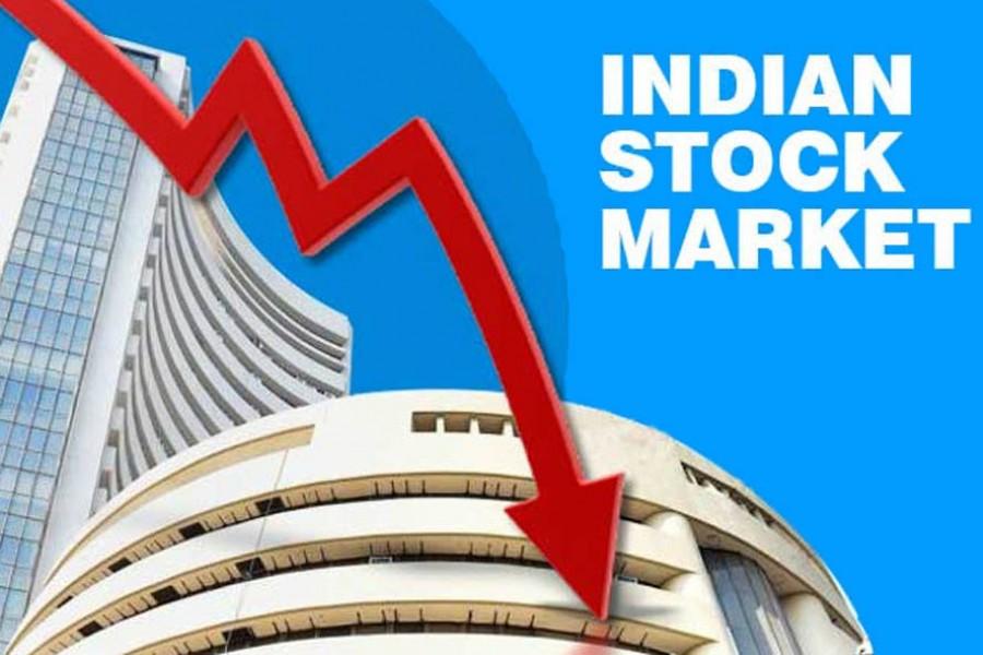 भारतीय शेयर बजारको बबल फुट्दै, लगानीकर्ता एक दिनमै गुमाए २ लाख करोड