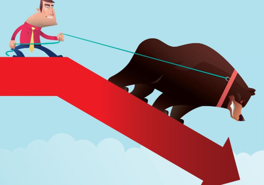 तरलता र ब्याजदरको चेपुवामा शेयर बजार, झुण्ड लगानीकर्ताको आन्दोलनले बन्यो झनै 'प्यानिक'